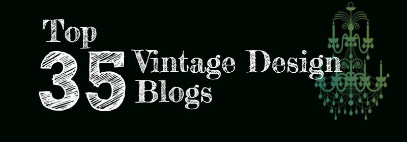 Top 35 Vintage Design Blogs