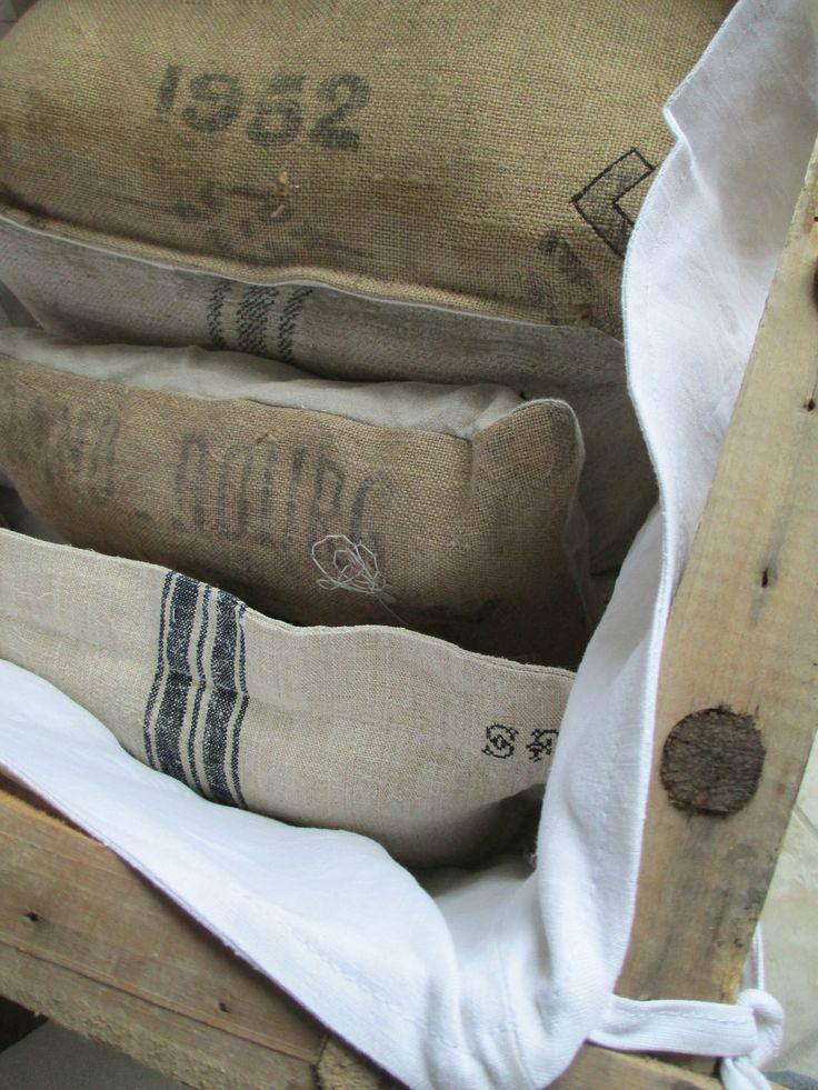 Grain Sack Inspiration Edith Amp Evelyn