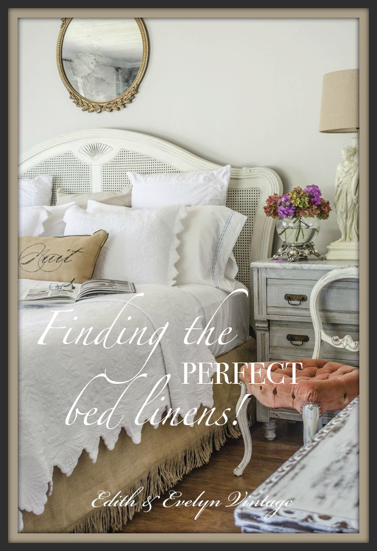 Perfect Moments And Perfect Linens Edith Amp Evelyn Vintage